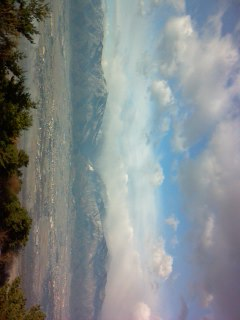 長峰山から